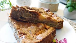 Gâteau healthy d'automne aux pommes