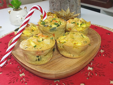 Muffin COURGETTES SURIMI Healthy