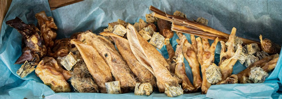 Natural Dog Treats and Chews