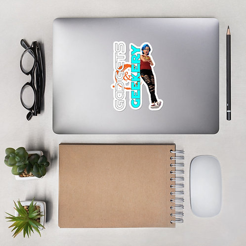 Gadgets & Geekery Bubble-free stickers