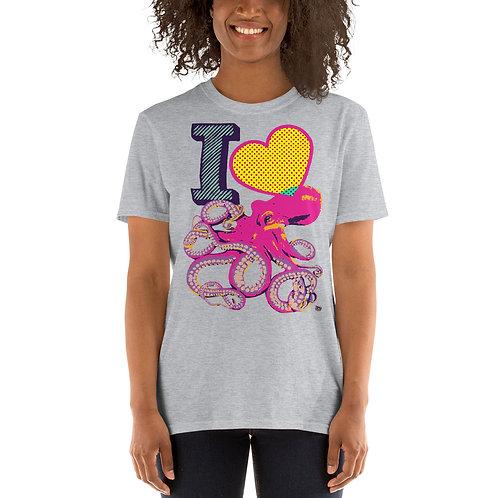 I Love Tentacles Short-Sleeve Unisex T-Shirt