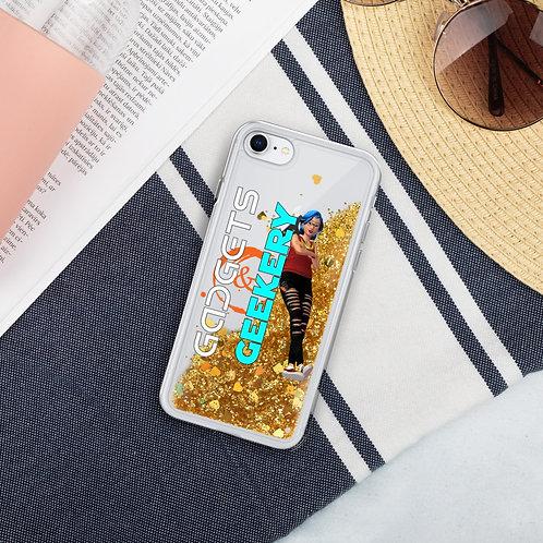 Gadgets & Geekery Liquid Glitter Phone Case