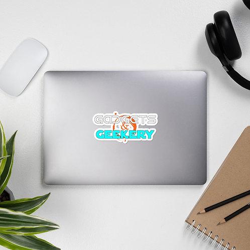 Gadgets & Geekery Logo Bubble-free stickers