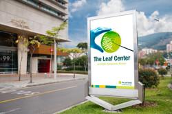 Leaf Center Advertising Mockup