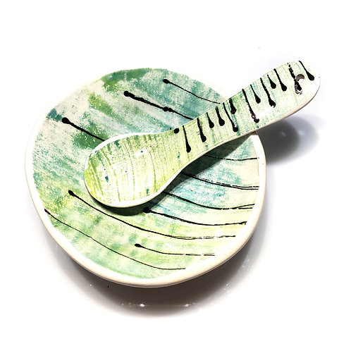 Petite Dish and Spoon Set