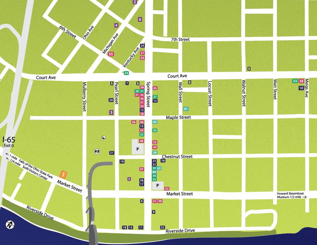 Jeffersonville Map
