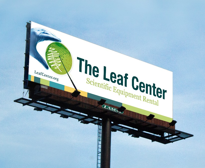 Leaf Center Bilboard