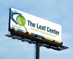 Leaf Center Bilboard
