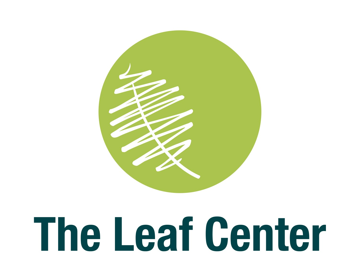The Leaf Center Logo