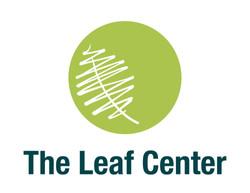 The Leaf Center Logo