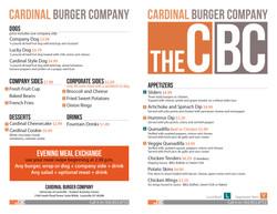 CBC to go menu