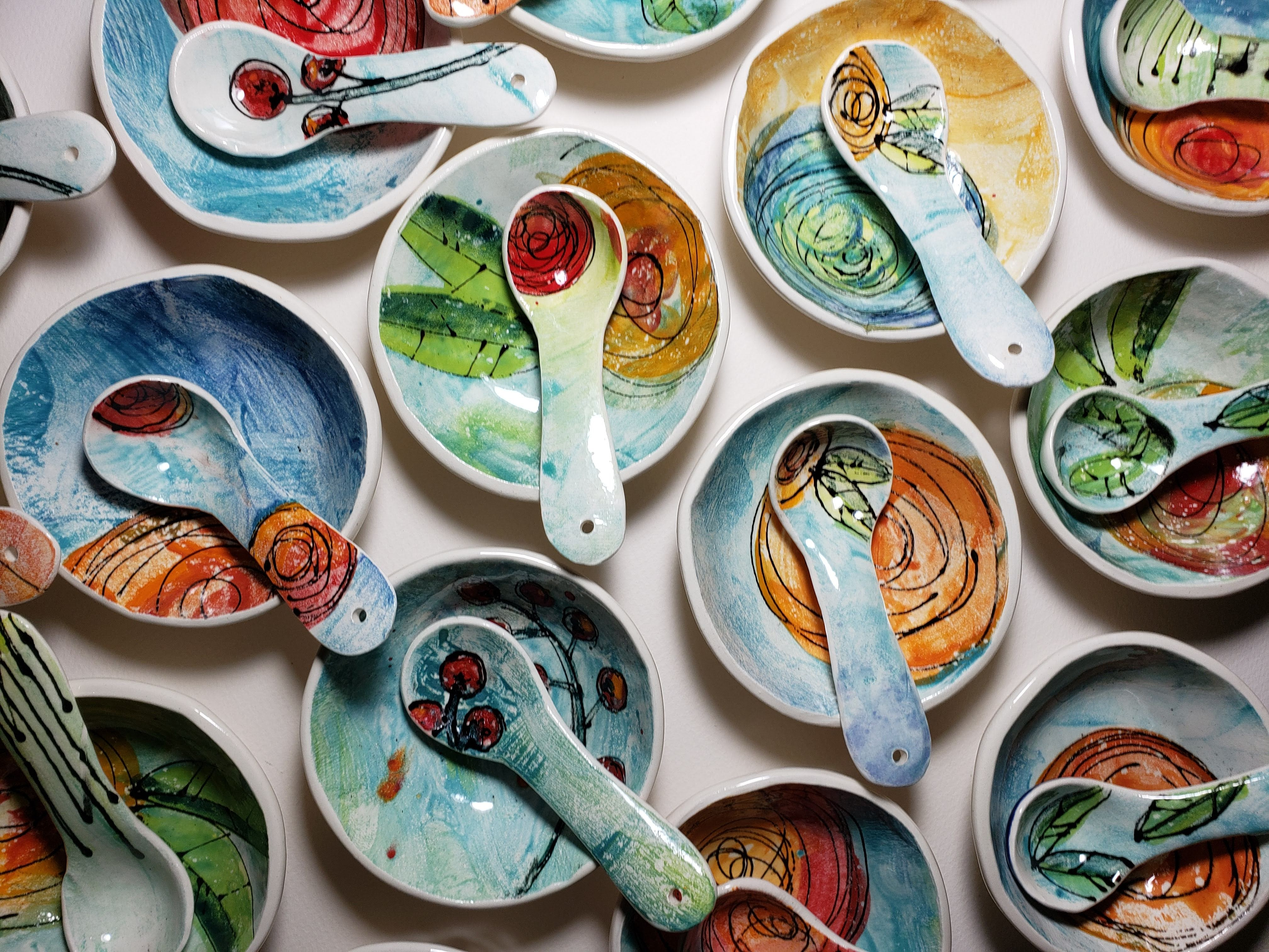 Petite Spoons and Dishes
