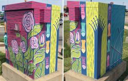 """Iconic Jeffersonville"" Mini Mural"