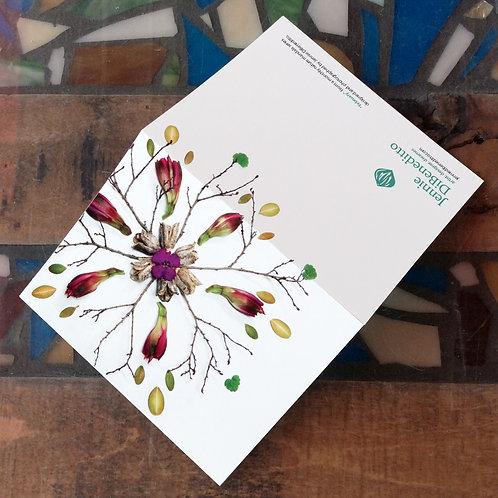 Nature Mandala Notecards (Set of 12)