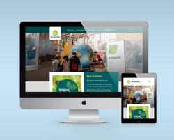 Leaf Center Website Mockup