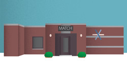 Match Business Illustration