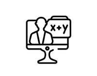 outline-online-class-icon-isolated-black