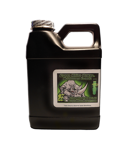Green Rhino Power Maintenance Formula 16.oz bottle