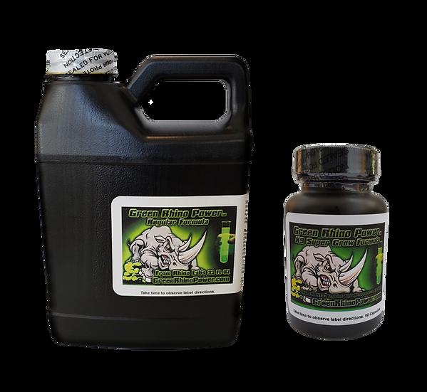 K9 Super Grow Formula 180 Caps & Get A Free Green Rhino Power WG 16.oz