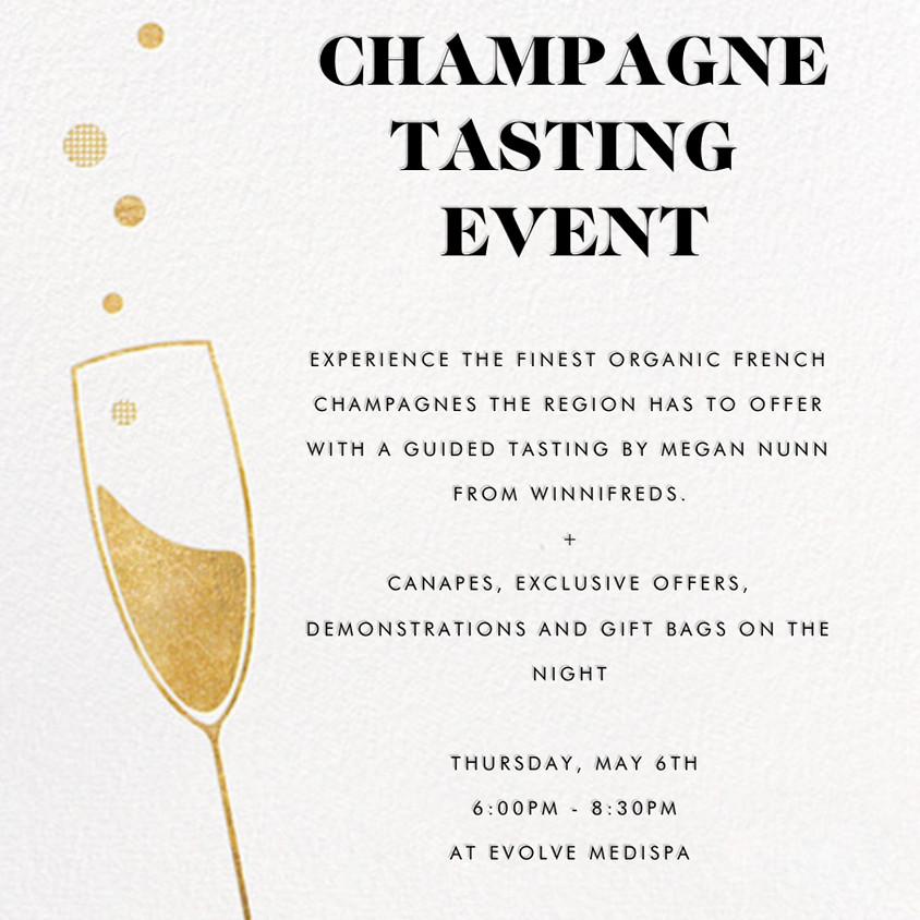 VIP Champagne Tasting Event
