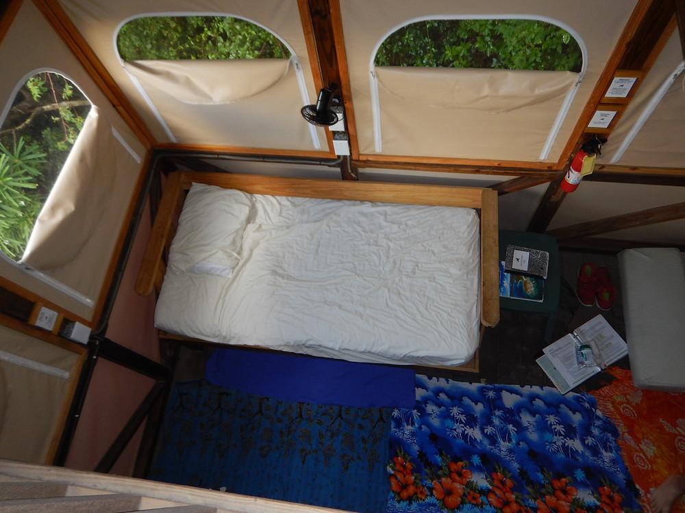 Glorious breezes for the corner bed, Concordia Eco Resort, St. John, US Virgin Islands