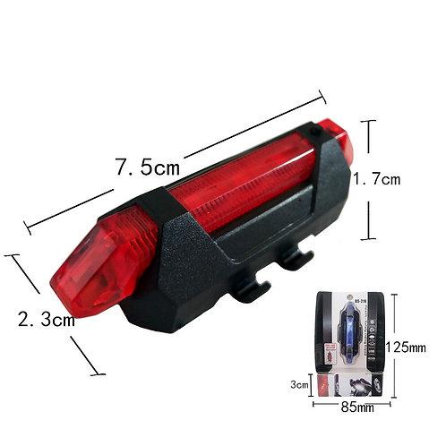 WaterproofBike Bicycle light Rechargeable LED Taillight انارة ضد الماء للدراجة