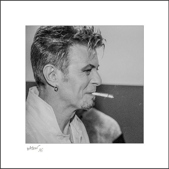 David Bowie. Série limitada de 50 prints. Ampliação tamanho 50X50cm.  Fotografia e arte por MRossi.
