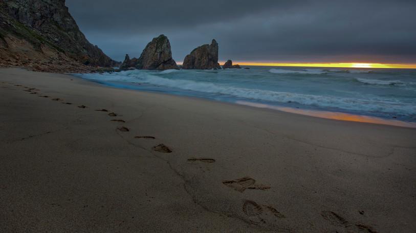 praia da ursa, sintra, portugal - print à venda