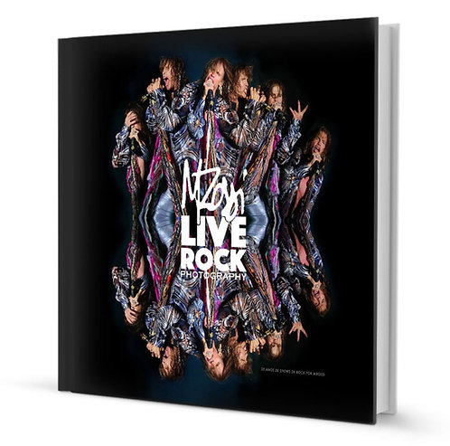 Livro MRossi Live Rock Photography
