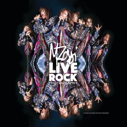 Livro LIVE ROCK