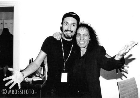 mrossi com ronnie james dio