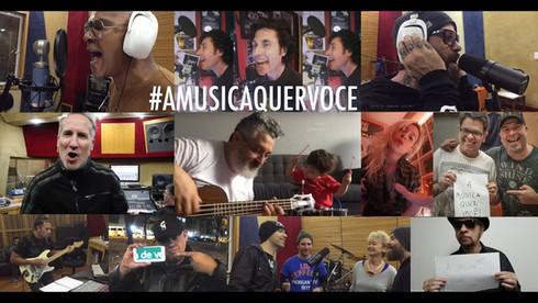 """MRossi """"A Música Quer Você"""" (varios artistas) - Tema pelas bandas independentes de rock do Brasil"""
