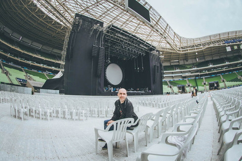 mrossi show do david gilmour