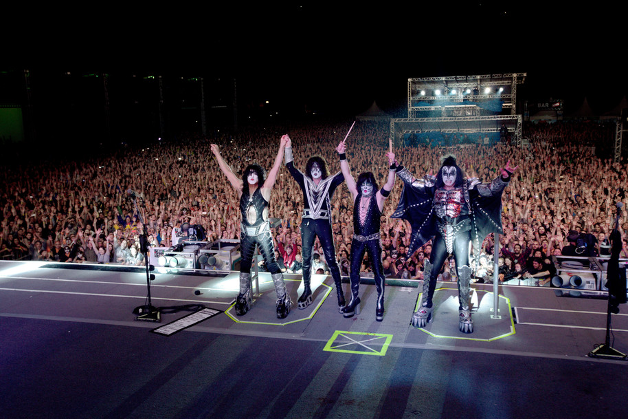 kiss final do show - cwb - print à venda