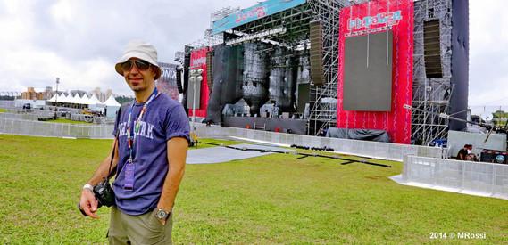 fotografia oficial de shows do do lollapalooza