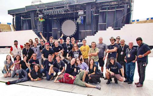 produtores de shows - roger waters the wall