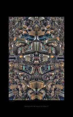 unfolding the walls of reality 2 - print à venda