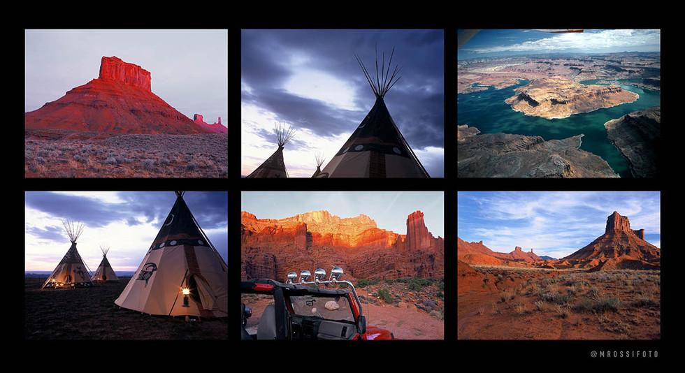 Moab  - print à venda - a capital da aventura em USA