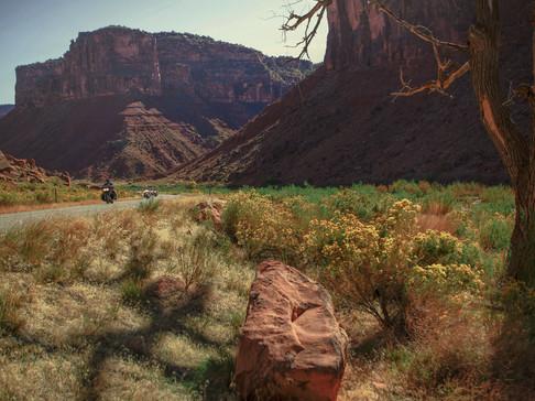rolling - moab, utah