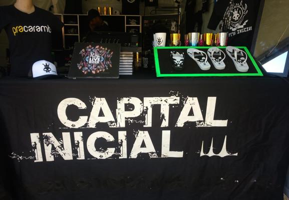 lojinha do Capital Inicial