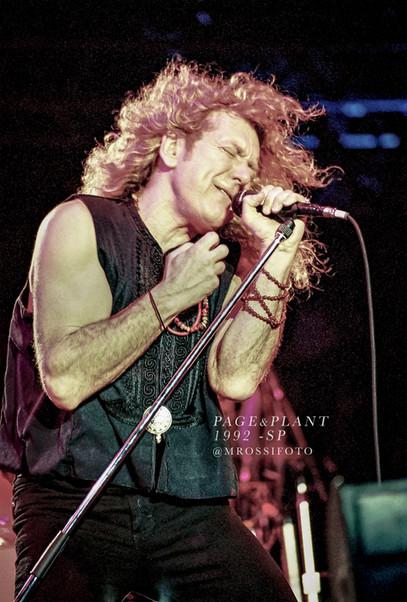 Robert Plant - Led Zeppelin  - print à venda