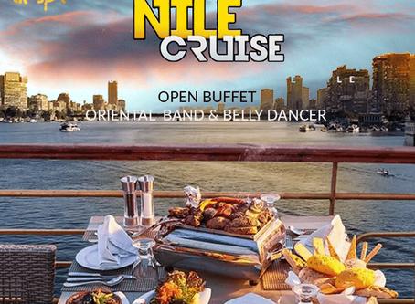 المراكب النيلية بالقاهرة و سهرات العشاء النيلية