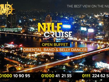 عروض البواخر النيلية المتحركة و حجز رحلات العشاء النيلية