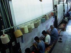 手織りペルシャ絨毯