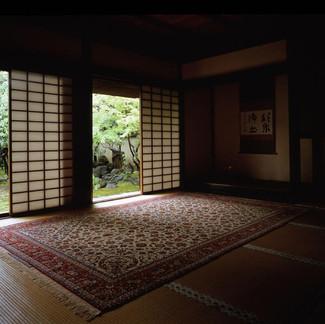 京の町屋とペルシャ絨毯
