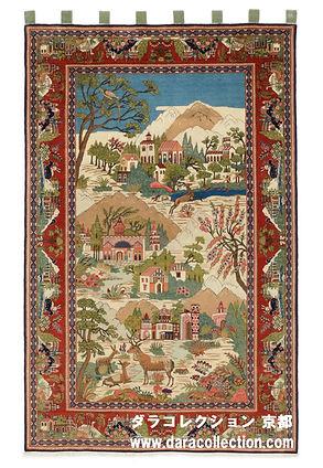 アンティークペルシャ絨毯