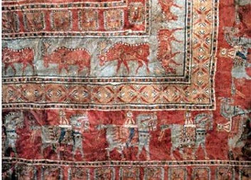 パズィリク絨毯