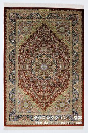 シルク ペルシャ絨毯 カシザデ