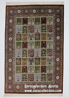 ペルシャ絨毯 シルク