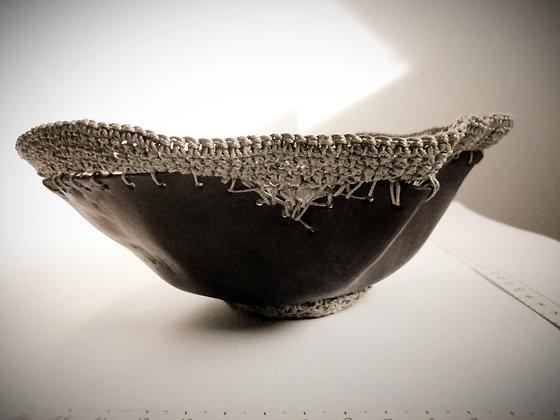 Sculpture contenant vague